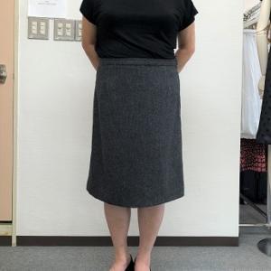生徒作品NO.1372☆1年生コース スカート原型後はじめてのスカート制作