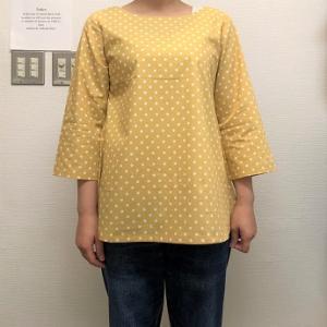 生徒作品NO.1399☆オリジナルコース 初めての洋服作りは いつものブックから