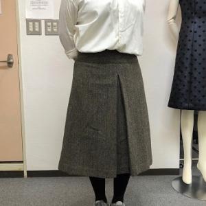 生徒作品NO.1403☆1年生コース ハリスツイードでヨークスカート