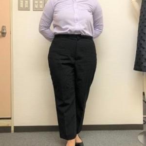 生徒作品NO.1405☆2年生コース パンツ原型から基本のパンツ2本目