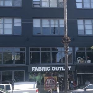 サンフランシスコの生地屋さんに行ってきました