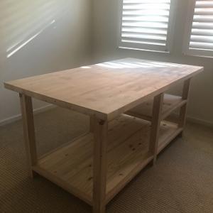 アメリカで 裁断台を作ってみました