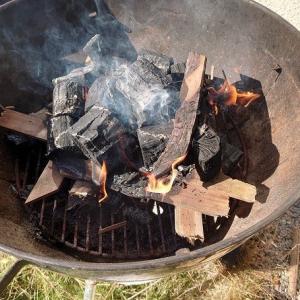 ステイホームでお庭BBQ