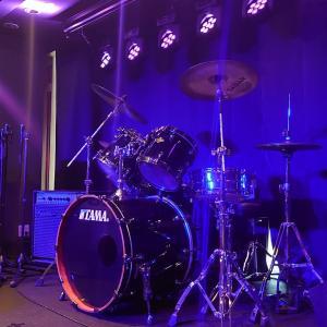 光とドラムのイリュージョン‼️