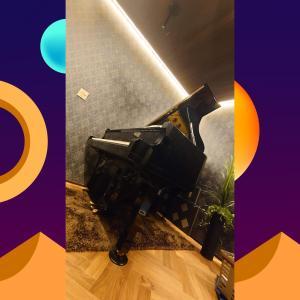 自宅でピアノをホールの様な響きで奏でる防音室