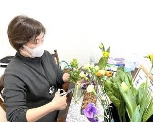 生花・ディプロマのパラレルレッスン♪