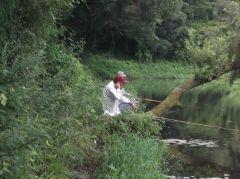 3週間ぶりの釣行は涼しくて快適だったものの、途中雨に追われて終了