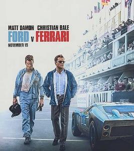 映画『フォードvsフェラーリ』観ました。