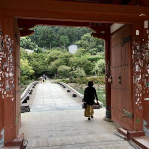 西国巡礼二十三番「勝尾寺」