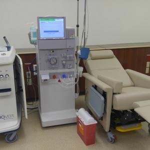 アラモアナ透析センターでの装置の異常