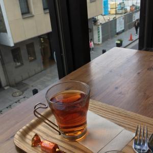 元町ユニオンのカフェでサンドイッチランチ