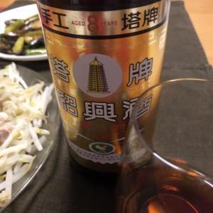 ちゃんと中華(海老チリ、ピータン、海鮮オイスターソース炒め)晩ごはん