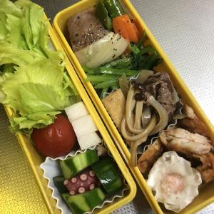 彼(夫)のお弁当記録 5.Aug.