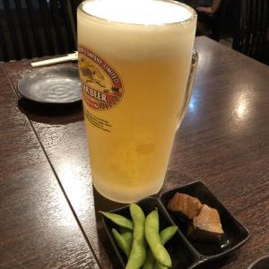 まずは日本酒とお刺身から… 1次会 フライデーナイト(^^♪