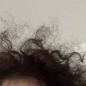 笑える(^^; ミスショット! 私の髪といったら。。。