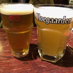 PUBで美味しいビール 晩ごはんデート