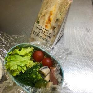サラダお弁当 & サンドイッチ