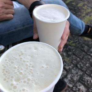 公園アペロ 美味しいビールと眺め