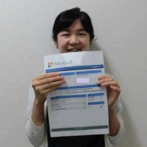 MOS試験合格者インタビュー!