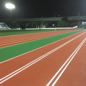 江戸陸練習会。3000m+2000m+1000m