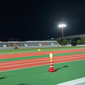 江戸陸練習会でセンバル6本