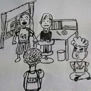たつき赤面!東京おばちゃんが石岡にやってきた~4コマ漫画「猛CHARちゃん」