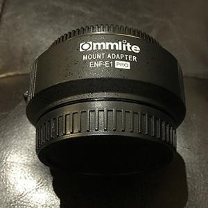 α7m3でニコンのレンズを使う【Commlite マウントアダプター CM-ENF-E1 PRO】