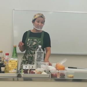 薬膳料理の講習会に参加しました