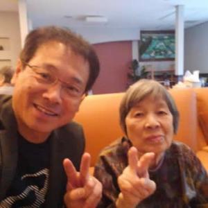 おそい昼飯と両親の所!