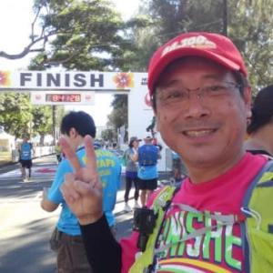 ホノルルマラソン無事に完歩!