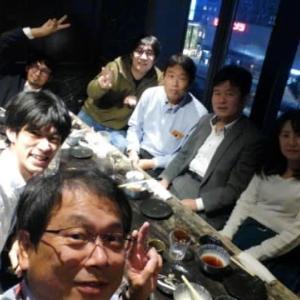 忘年会で広島のネットスクエア!