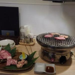 円山公園近くの木村屋さんで焼肉!
