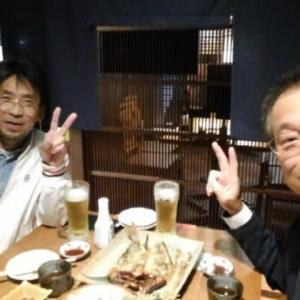 菊地の兄さんと戦略会議!