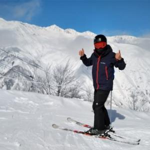 長野のアルバイトついででスキー!