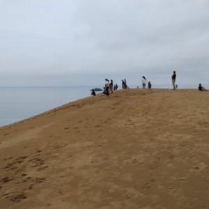 鳥取砂丘トレーニング!