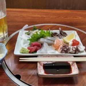 淡路島で一人酒!