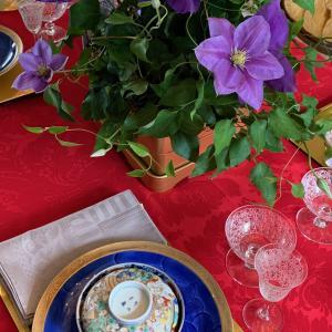 雅な和のテーブルコーディネート