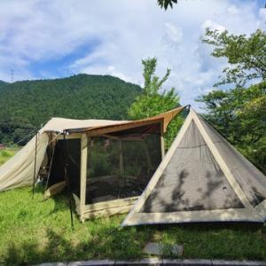 2ヵ月ぶりのキャンプ!