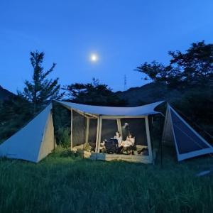 夏キャンプの夜!
