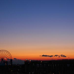 夕焼け〜っ!…