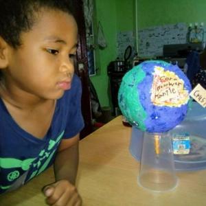 五歳児と地球の構造