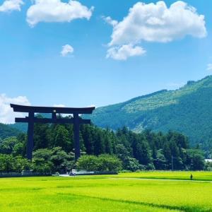日本一大きい「大斎原の大鳥居」