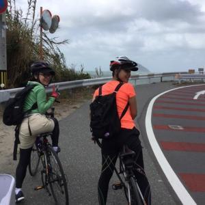 10月12日 志賀島サイクリング国民休暇村へ