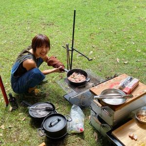 鹿児島のトライアスロン仲間もキャンプに