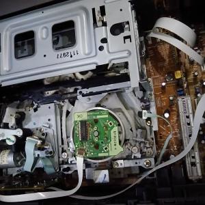 ビデオデッキの修理