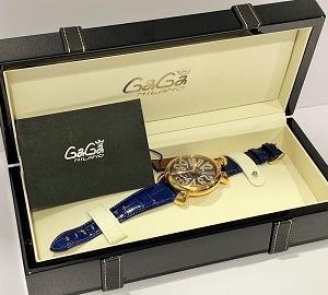 ガガミラノの時計お買取り