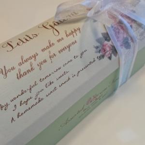 うれしい贈り物に感謝