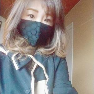 黒のドットマスクが可愛いと話題❤️ゴクビプロ