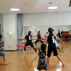 剣舞ダンス 親子で体験講座