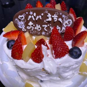 誕生日の前祝い